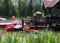 Катамараны и кораблики, поселок Николино
