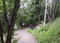 Прогулочная зона, поселок Николино