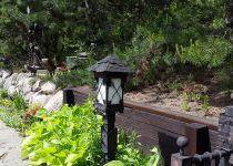 Брутальный фонарь, поселок Николино